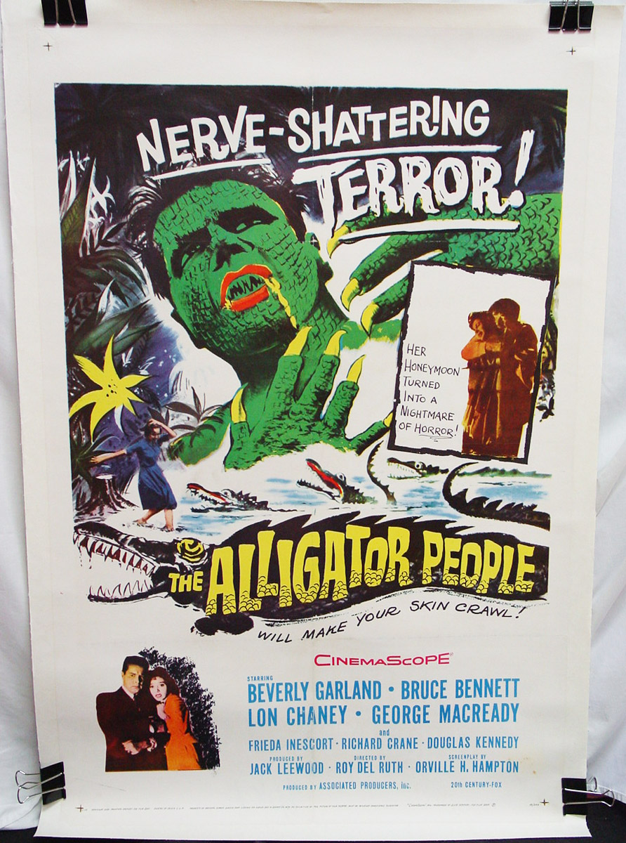 Alligator People (1959), The