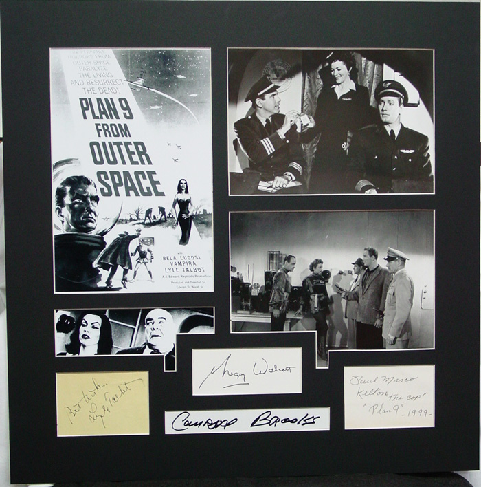 Plan 9 From Outer Space - 4 Signature Matte