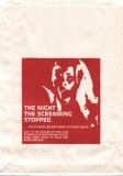 Night the Screaming Stopped Promotional Barf Bag