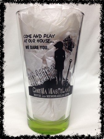 Cinema Wasteland Movie & Memorabilia Expo - 16 oz. Pub Glass