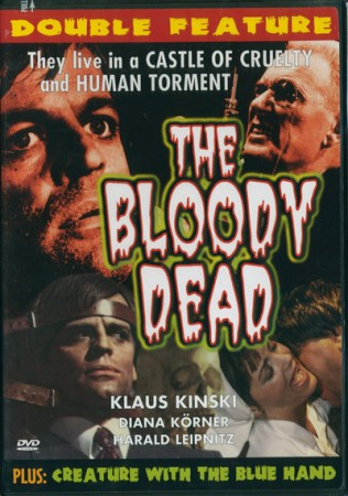 Double Feature: Bloody Dead (1967) & The Creature with the Blue Hand (1967) , The