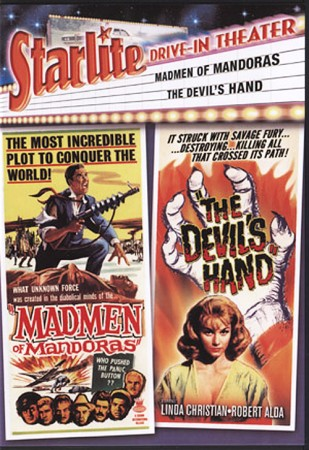 Double Feature: Madman of Mandoras (1963) & The Devil's Hand (1962)