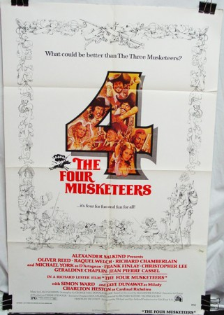 Four Musketeers (1975) , The