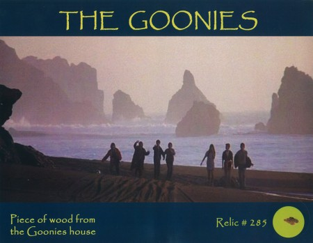 Goonies: A Piece of the Goonies House
