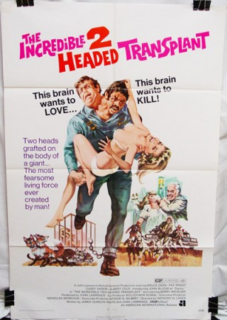 Incredible Two-Headed Transplant (1971) ,The