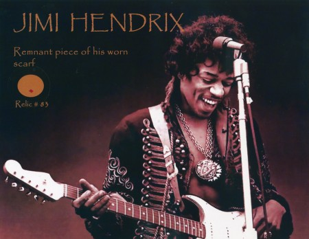 Jimi Hendrix: Piece of his Scarf
