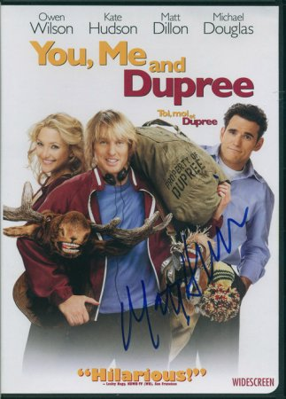 You, Me and Dupree (2006) DVD Signed by Matt Dillion