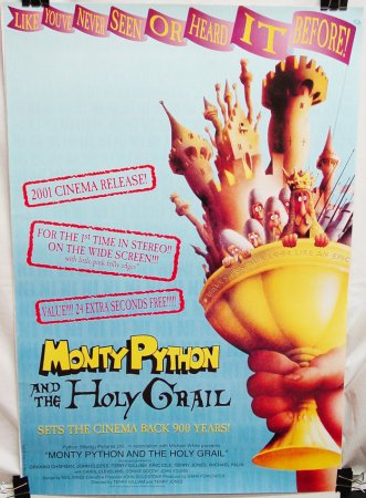 Monty Python and the Holy Grail (R-2001)