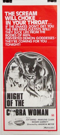 Night of the Cobra Woman (1973)