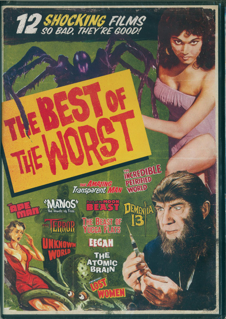 Best of the Worst: 12 Film Collection , The