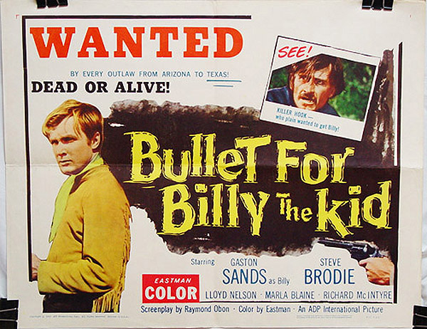 Bullet for Billy the Kid (1963)