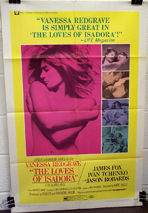 Loves of Isadora (1969), The