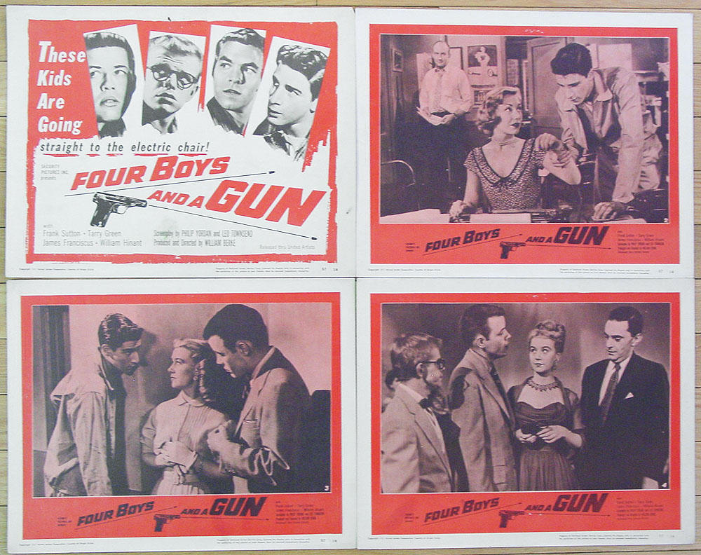 Four Boys and a Gun (1957)