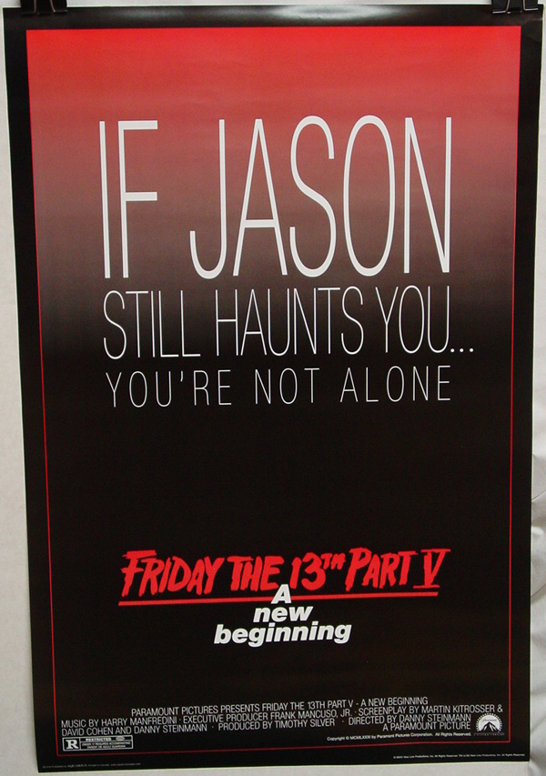 Friday the 13th Part 5: A New Beginning (1985)