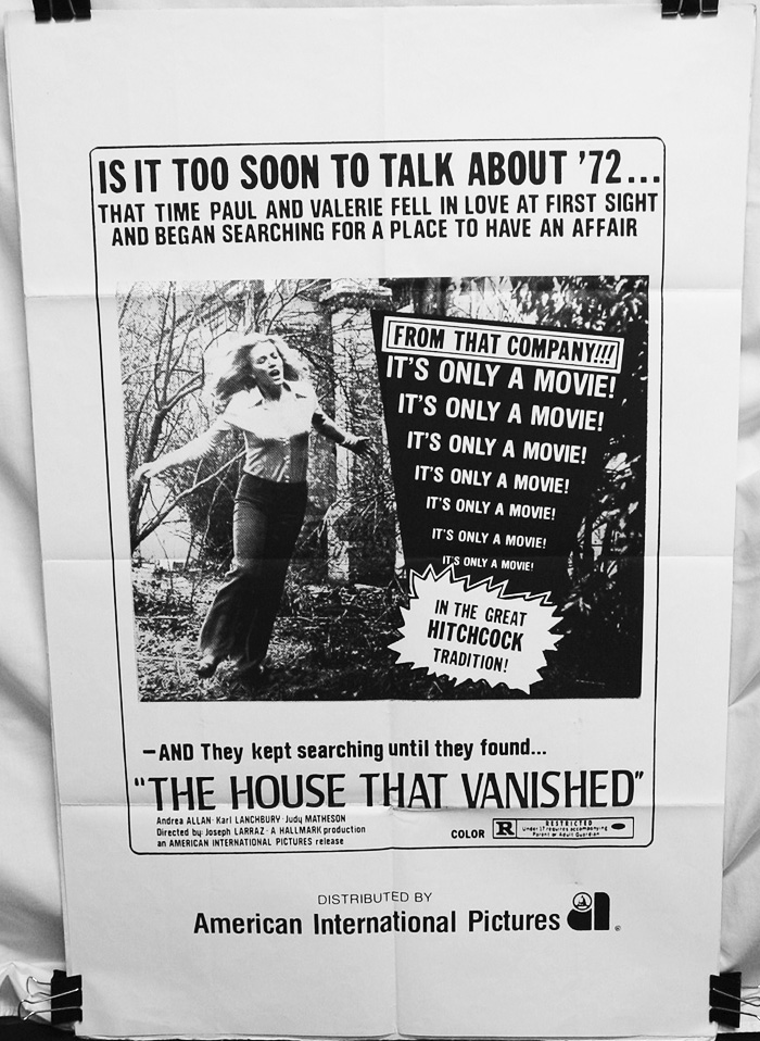 House That Vanished (1974) , The