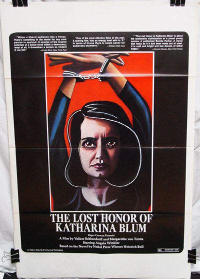 Lost Honor of Katharina Blum (1975) , The