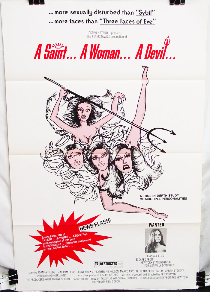 Saint... A Woman... A Devil (197?) , A