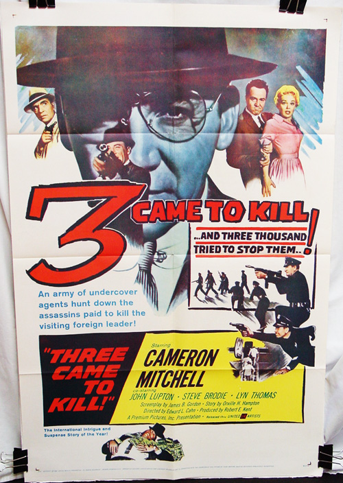 Three Came to Kill (1960)