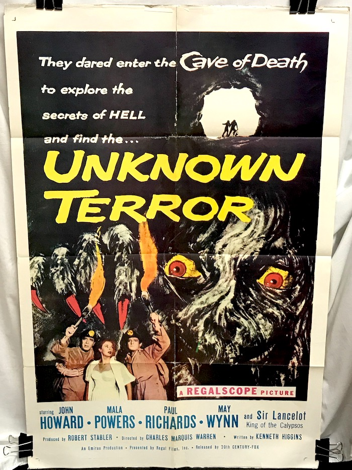 Unknown Terror (1957) , The