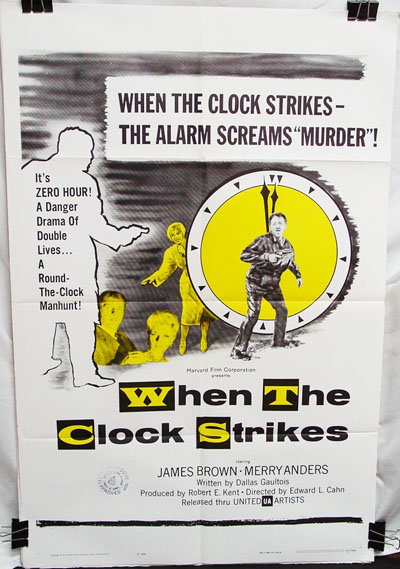 When the Clock Strikes (1961)