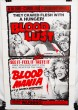 Double Feature Combo Poster: Blood Lust (1961) & Blood Mania (1970)