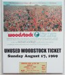 Woodstock - Unused Ticket