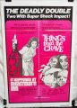 Double Feature Combo Poster: It Happened at Nightmare Inn & Things from the Grave (1973)