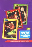 WCW 1991 Unopened Box of Trading Cards