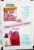 Double Feature Combo Poster: Revenge of the Pink Panther (1978) & The Pink Panther Strikes Again (1976)