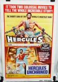 Double Feature Combo Poster: Hercules (1958) & Hercules Unchained (1959)