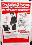 Double Feature Combo Poster: Rabbit Test (1978) & Kentucky Fried Movie (1977)