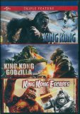 Kong Triple Feature: King Kong (2005), King Kong vs Godzilla (1963), King Kong Escapes (1968)