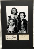 The Three Musketeers (1939) 2 Signature