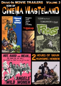Cinema Wasteland 3: Horror Movie Trailers from the 60's, 70's & 80's