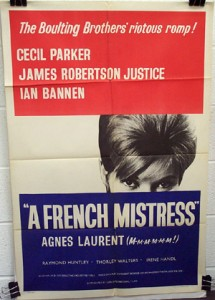French Mistress (1960), A