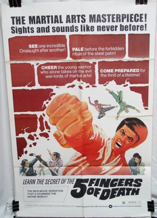 Five Fingers of Death (1973)