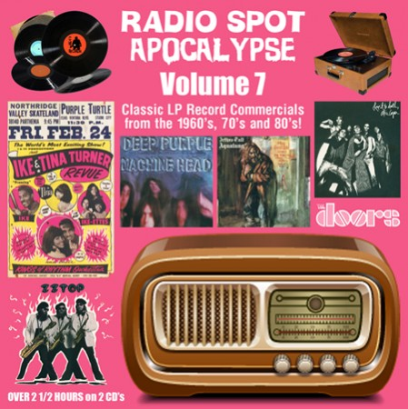 Radio Spot Apocalypse 7: Classic LP Record Commercials