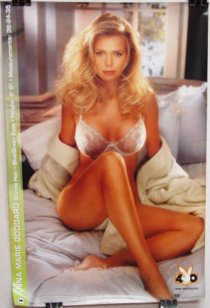 Anna Marie Goddard - 40th Anniversary Playboy Poster