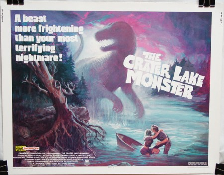Crater Lake Monster (1977) , The