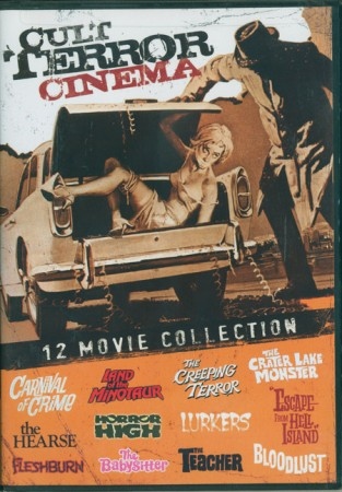 Cult Terror Cinema: 12 Movie Collection