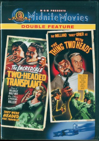 Double Feature: Incredible Two-Headed Transplant (1971) & The Thing With Two Heads (1972)