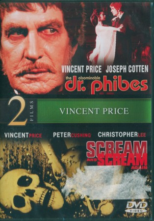 Double Feature: Abominable Dr. Phibes (1971) & Scream and Scream Again (1970)