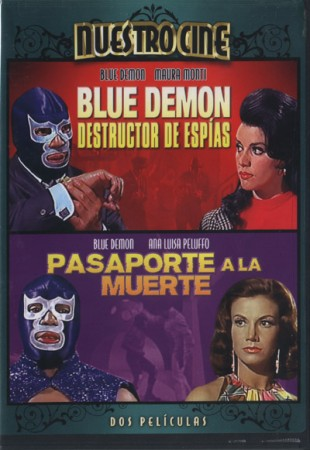 Double Feature: Blue Demon: Spy Destroyer (1968) and Passport to Death (1968)