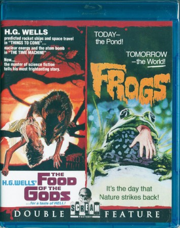 Double Feature: Food of the Gods (1976) & Frogs (1972)