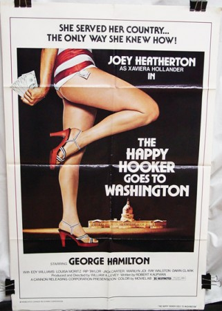 Happy Hooker goes to Washington (1977) , The