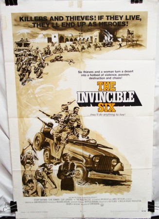 Invincible Six (1970) , The