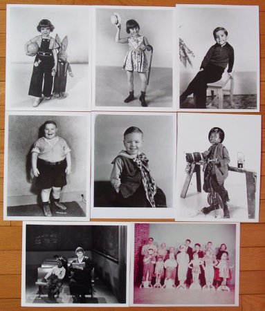 The Little Rascals Photo Set