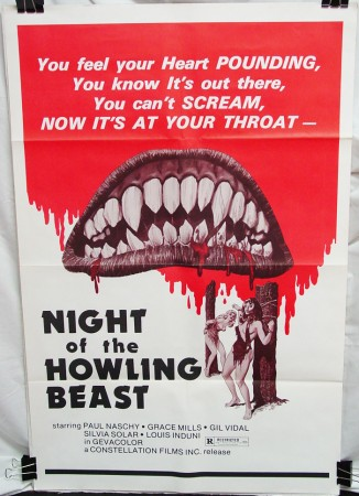 Night of the Howling Beast (1975)