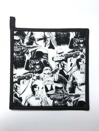 "Star Wars - Rogue One Style - Handmade 9x9"" Pot Holder"