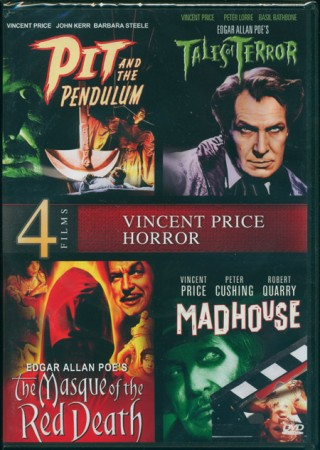 Vincent Price 4 Film Collection